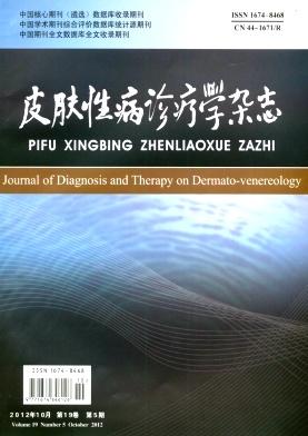 《皮肤性病诊疗学杂志》