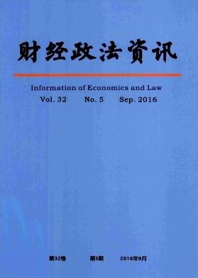 《财经政法资讯》双月刊征稿