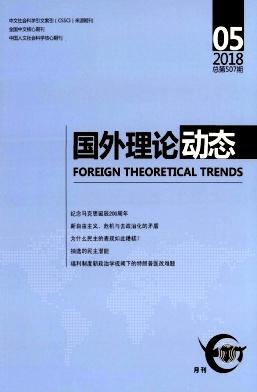 《国外理论动态》核心期刊 CSSCI