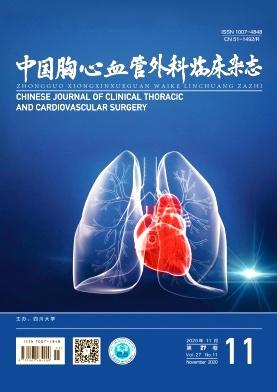 《中国胸心血管外科临床杂志》月刊征稿