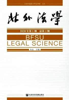《北外法学》征稿