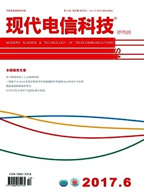 《现代电信科技》双月刊